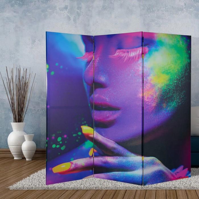 """Ширма """"Краски"""", 160 × 150 см"""