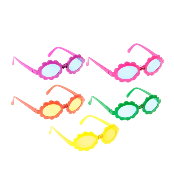 """Карнавальные очки детские """"Гребешок"""", цвета МИКС"""