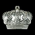 "Декор металл для творчества ""Корона империи"" (В71514) 3,4х2,7 см"