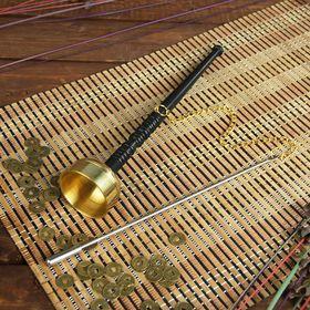 """Сувенир металл """"Колокол"""" с молоточком на цепочке 26,5х5х5 см"""