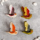 "Magnet plastic spring ""Flying owl"" MIX 5,5х7х1,5 cm"