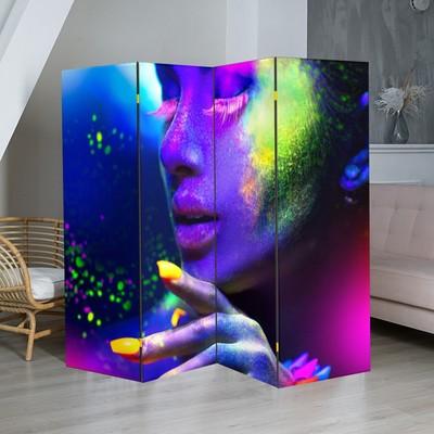 """Ширма """"Краски"""", 200 × 160 см"""