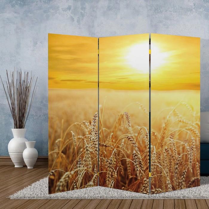 """Ширма """"Пшеничное поле"""", 160 × 150 см"""
