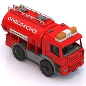 Автомобиль цистерна «Огнеопасно»