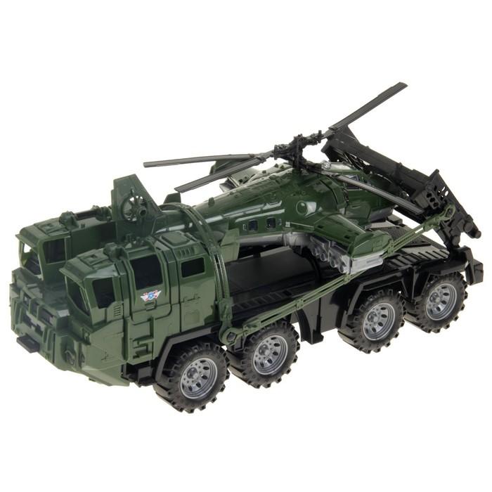 Военный тягач «Щит», с вертолетом - фото 105650636