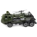 Военный тягач «Щит», с вертолетом - фото 105650641