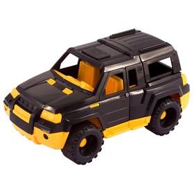 Джип «Мустанг», жёлто-черный
