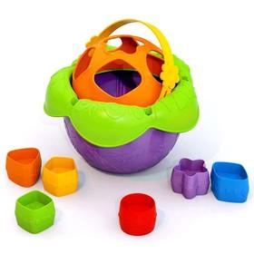 Дидактическая игрушка «Ведро Цветочек»