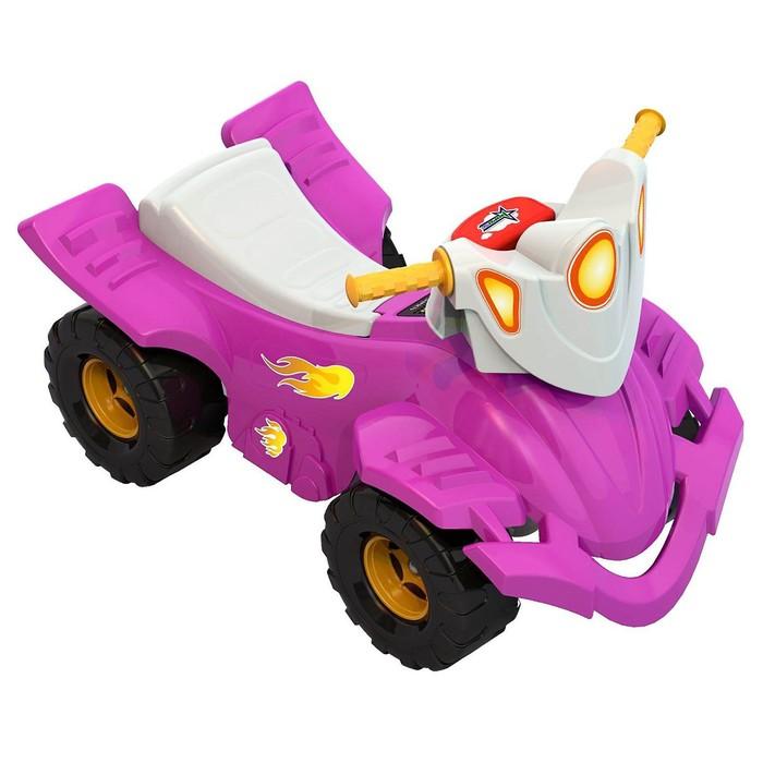 Толокар «Квадроцикл», розовый
