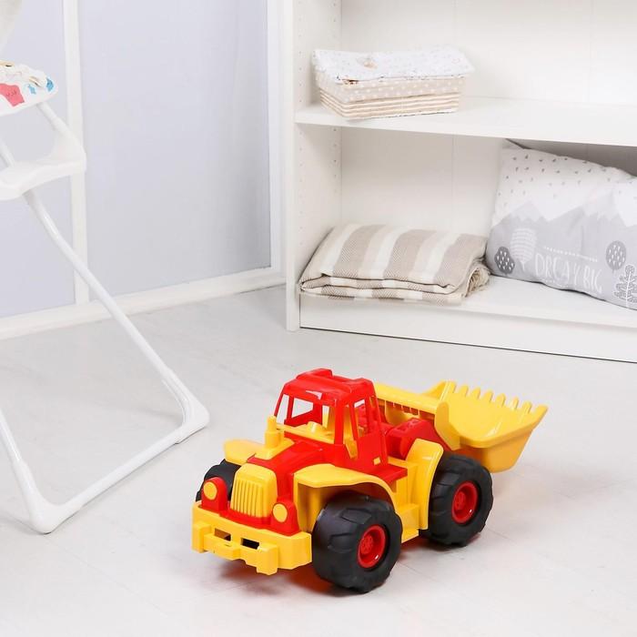 """Трактор """"Богатырь"""", с грейдером, МИКС"""
