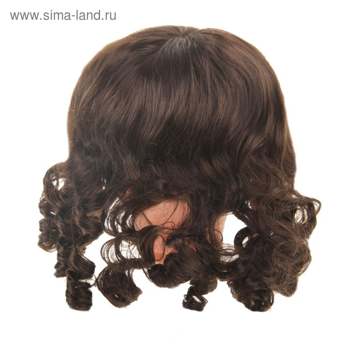 """Волосы для кукол """"Кудряшки с челкой"""" размер большой , цвет Р2"""