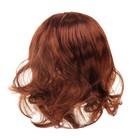 """Волосы для кукол """"Прямые с челкой"""" размер большой , цвет Р340"""