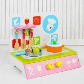 Игровой набор «Плита с посудкой»