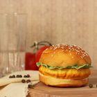 """Муляж """"Гамбургер"""" 9*6,5 см - фото 699494"""