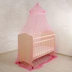 Москитная сетка на детскую кроватку, с декором, цвета МИКС