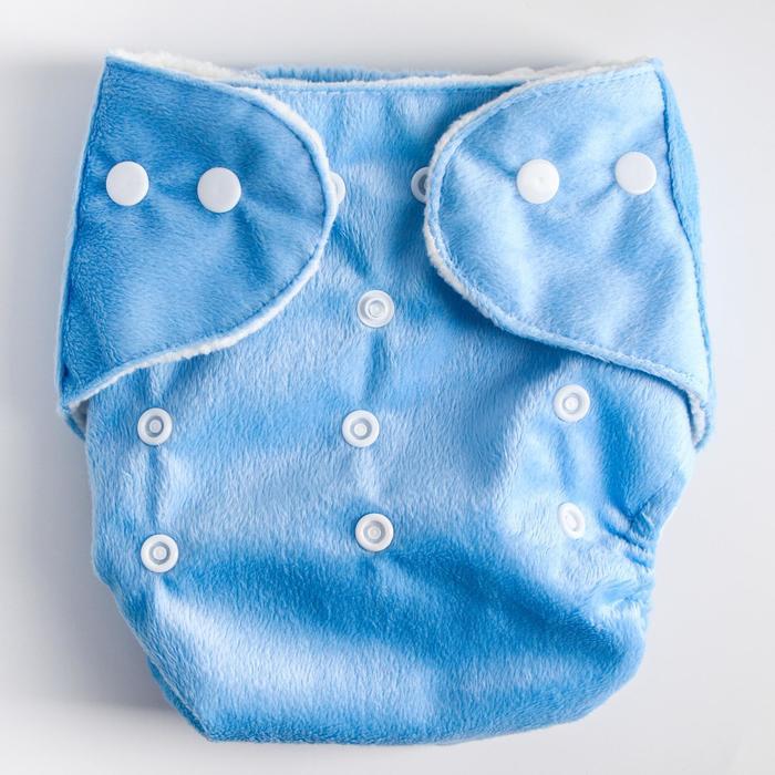 Многоразовый подгузник «Для мальчишек», на кнопках, цвета МИКС