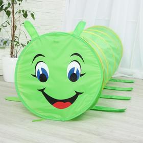 "Children's tunnel ""Caterpillar"", color green"