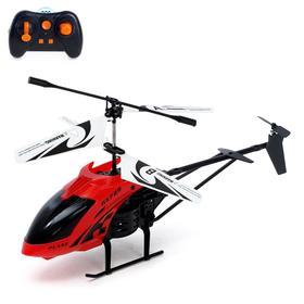 Вертолет радиоуправляемый «Эксперт», работает от аккумулятора, 3,5 канала, цвета МИКС