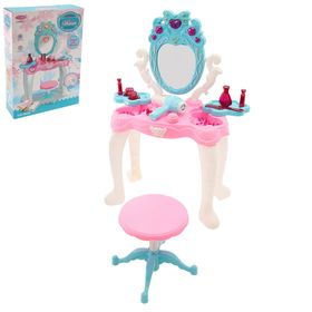 Игровой набор модницы «У зеркала» с аксессуарами и раскраской, свет, звук