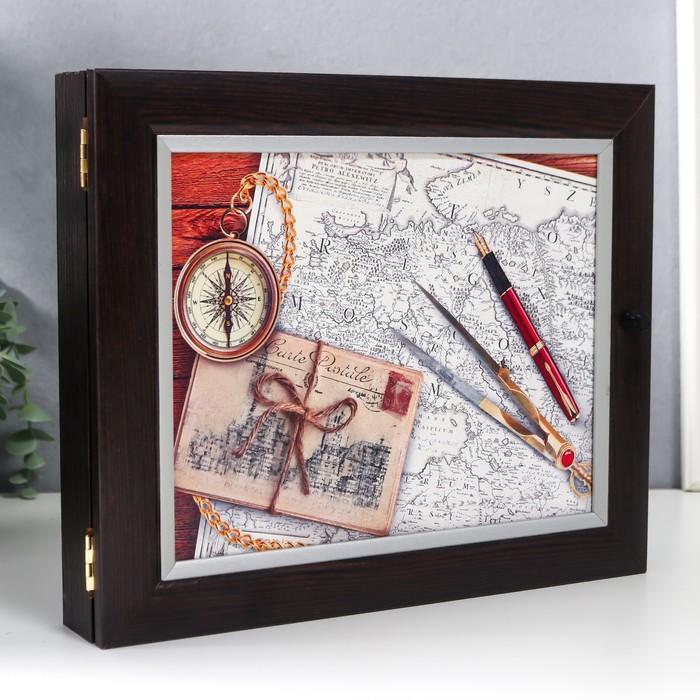 "Ключница ""Карты"" - фото 808395"