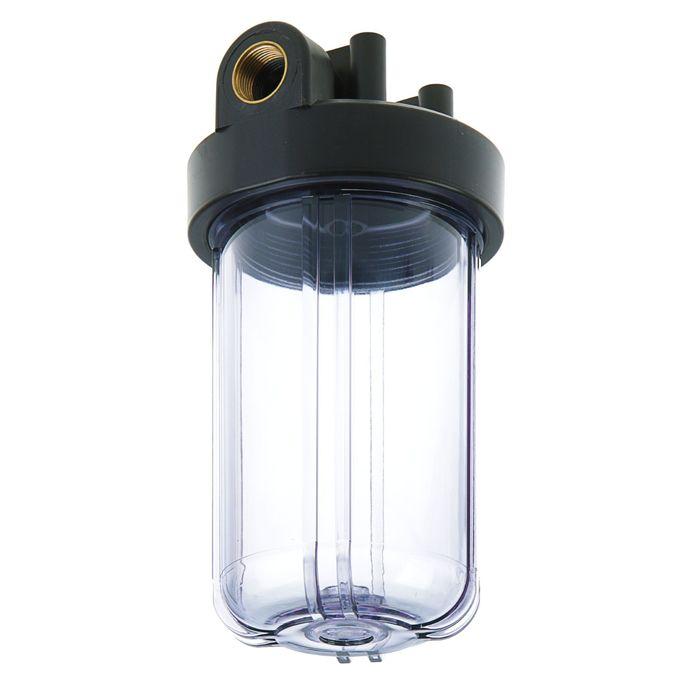 "Корпус для фильтра ""Нептун"" BP-30, внутренняя резьба, 1"", прозрачный"