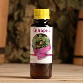 Ароматическая смесь натуральная для бани , ванны Кипарис 100мл