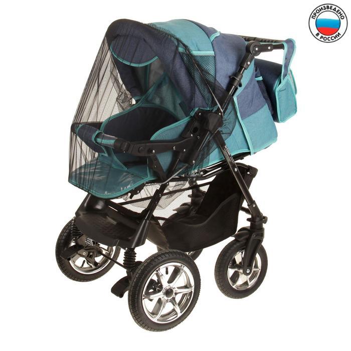 Москитная сетка на коляску универсальная, цвет чёрный, 80х140 см