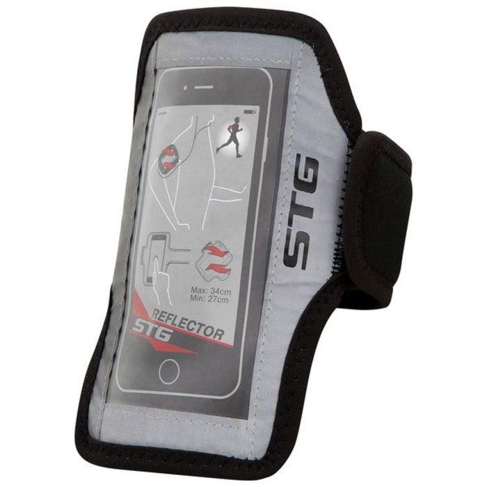 Чехол STG 70019 для телефона, крепление на липучке, пленка реагирующая на касания