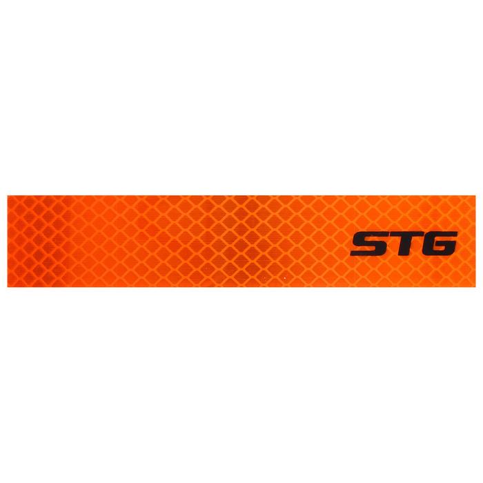 Катафот на велосипед STG 40020-O, наклейки с 3-D отражением