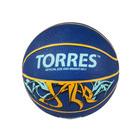 Мяч баскетбольный сувенирный Torres Jam, B00041, размер 1