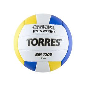 Мяч волейбольный сувенирный Torres BM1200 Mini, V30031, размер 1 Ош