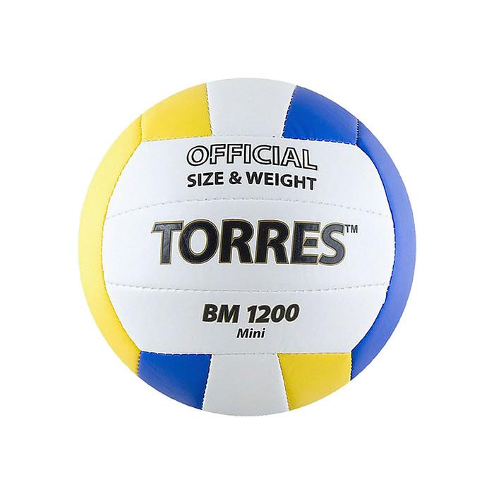 Мяч волейбольный сувенирный Torres BM1200 Mini, V30031, размер 1