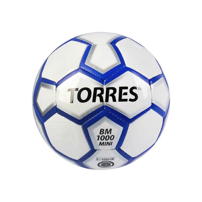 Мяч футбольный сувенирный Torres BM1000 Mini, F30071, размер 1