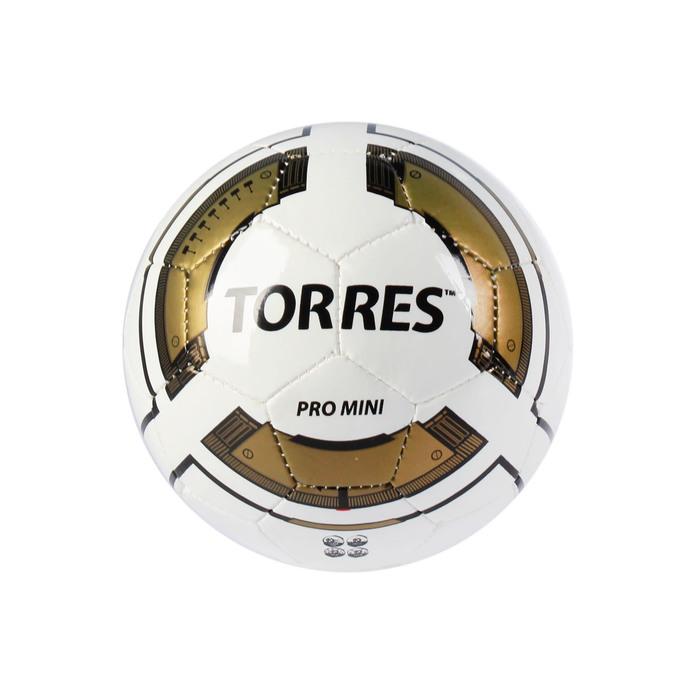 Мяч футбольный сувенирный Torres Pro Mini, F30010, размер 0