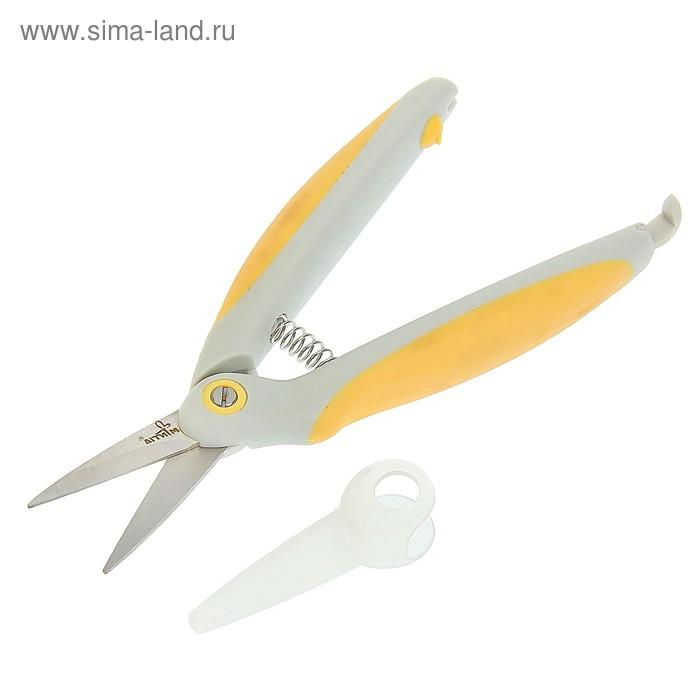 """Ножницы садовые, 6.5"""" (16.5 см), пластиковые ручки"""