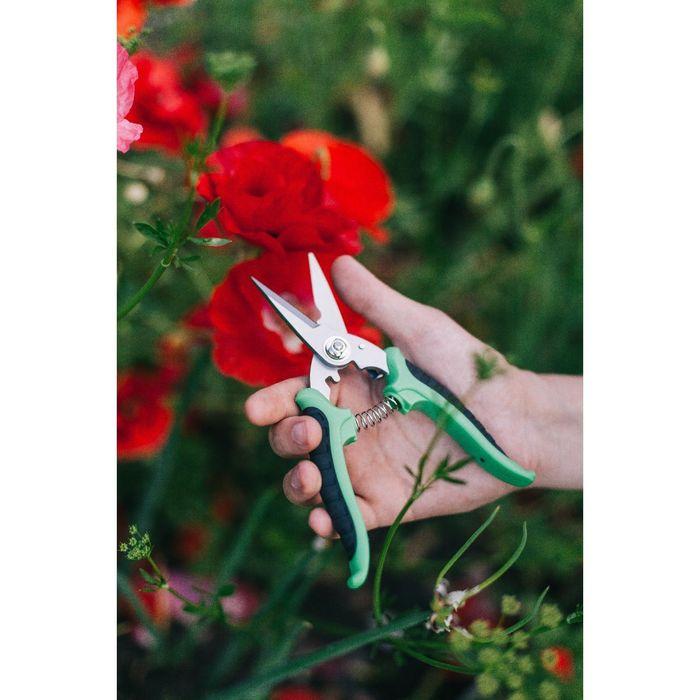 """Ножницы садовые, 10"""" (25.5 см), пластиковые ручки"""