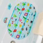 Коврик для ванны Доляна «Морские жители», 39×67 см - фото 105494693