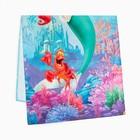 """Полотенце """"Принцессы: Ариель"""" 60х140 см, 100% хлопок 160гр/м2 - фото 105552274"""