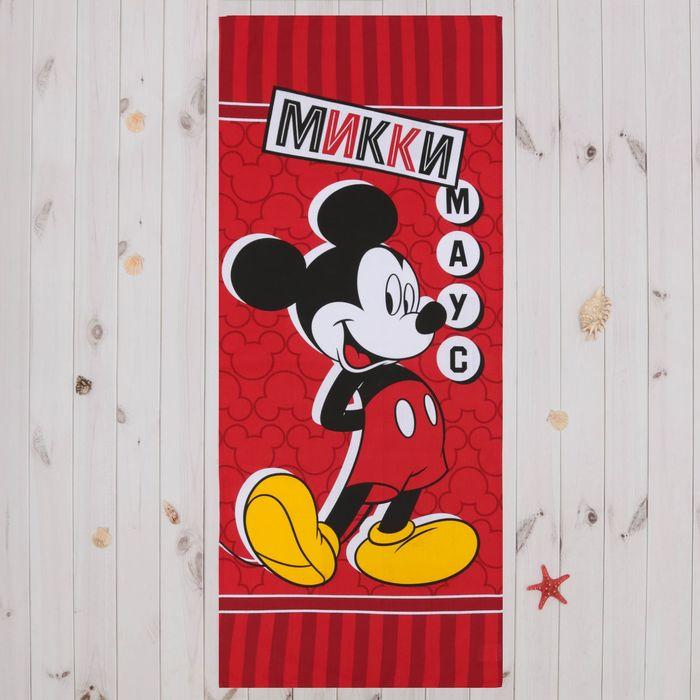 """Полотенце """"Микки Маус"""" 60х140 см, 100% хлопок 160гр/м2"""