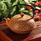 """Чайник с ситом 1 л """"Лайан"""", цвет оранжевый"""