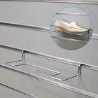 Полка для экономпанелей, для обуви, прямая, 25*10*5 см, цвет хром