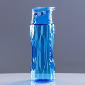 Бутылка для воды спортивная Sport Cup с откидной крышкой, 650 мл, микс в Донецке