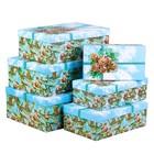 Набор коробок 6 в 1 «Зимний лес», 22.5 × 12.5 × 7.5 см‒32 × 22 × 11 см