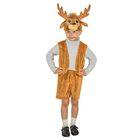 """Карнавальный костюм """"Олень"""", шапочка, жилет, шорты, рост 122 см, 5-7 лет"""