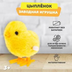 Игрушка заводная «Цыплёнок» в Донецке