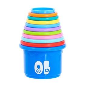 "Educational toys ""Cups"", 11 pieces, MIX"