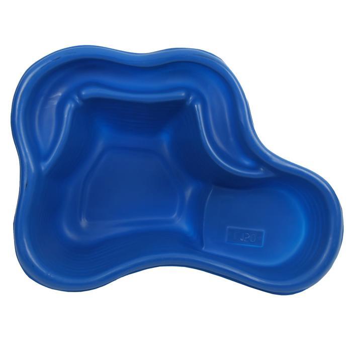 Пруд садовый пластиковый, 150 л, синий