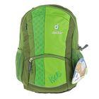 Рюкзак школьный эргономичная спинка Deuter Kids 36*20*18 зелёный 36013-2004