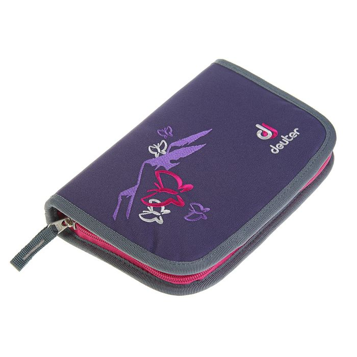 4b485684b5ba ... Рюкзак школьный эргономичная спинка для девочки Deuter OneTwo 42*30*22 «Фиолетовая  бабочка ...