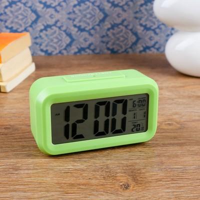 """Часы-будильник электронные """"Эврон"""", настольные, 13х7 см, микс"""